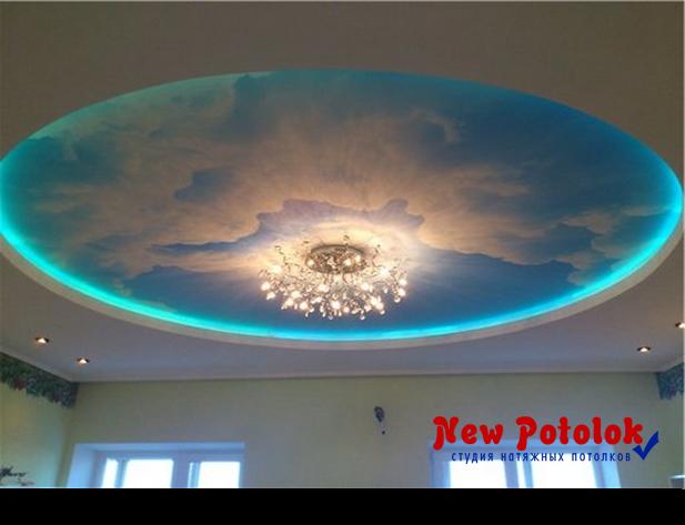 """Натяжные потолки от компании """"New Potolok"""" S_led_podsvetkoy7"""
